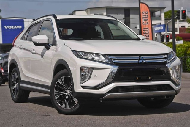 Used Mitsubishi Eclipse Cross YA MY18 LS 2WD Mount Gravatt, 2018 Mitsubishi Eclipse Cross YA MY18 LS 2WD Clear White 8 Speed Constant Variable Wagon