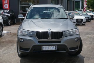 2014 BMW X3 F25 MY1213 xDrive20d Steptronic Grey 8 Speed Automatic Wagon.