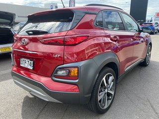 2018 Hyundai Kona OS.2 MY19 Highlander 2WD Red 6 Speed Sports Automatic Wagon