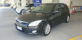 2008 Hyundai i30 FD SLX Black 5 Speed Manual Hatchback
