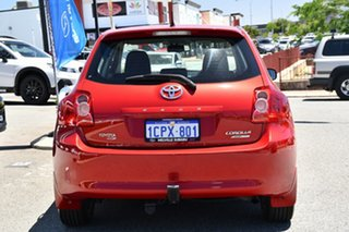 2007 Toyota Corolla ZRE152R Levin ZR Red/Black 6 Speed Manual Hatchback