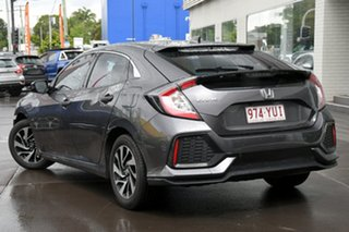2019 Honda Civic 10th Gen MY18 VTi-S Grey 1 Speed Constant Variable Hatchback.