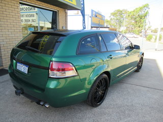 2009 Holden Commodore VE SV6 Green 6 Speed Automatic Wagon