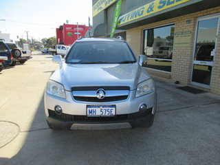 2010 Holden Captiva CG LX Grey 5 Speed Automatic Wagon.