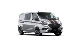 2021 Ford Transit Custom VN 2021.25MY 320L (Low Roof) Sport Moondust Silver 6 Speed Automatic.