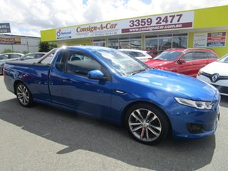 2016 Ford Falcon FG X XR6 Ute Super Cab Blue 6 Speed Sports Automatic Utility.