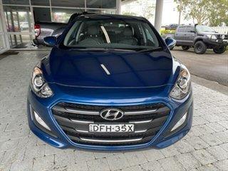 2015 Hyundai i30 Active X Blue Sports Automatic Hatchback.
