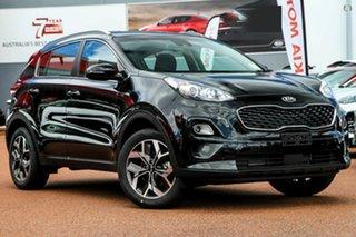 2020 Kia Sportage QL MY21 SX 2WD Black 6 Speed Sports Automatic Wagon.