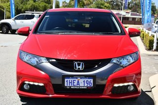 2013 Honda Civic 9th Gen MY13 VTi-LN Red/Black 5 Speed Sports Automatic Hatchback