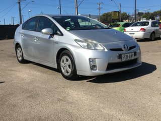 2010 Toyota Prius ZVW30R Silver 1 Speed Constant Variable Liftback Hybrid.