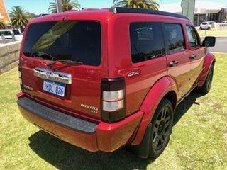 2010 Dodge Nitro KA MY09 SXT Red 4 Speed Automatic Wagon.