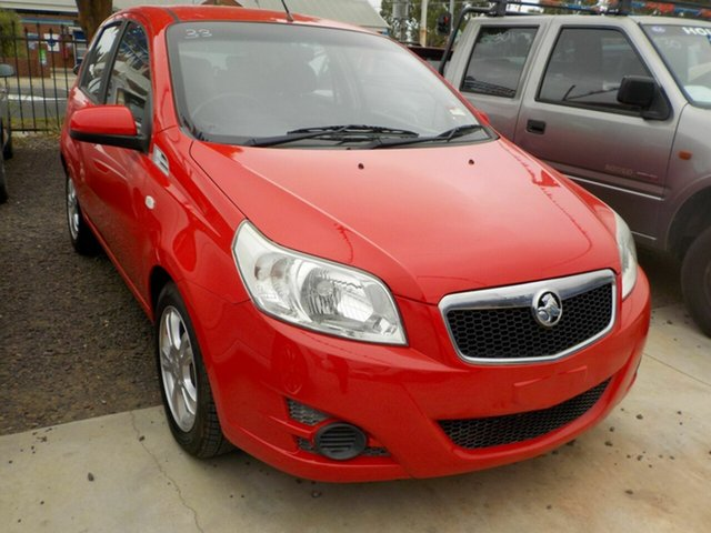 Used Holden Barina TK MY10 Newtown, 2010 Holden Barina TK MY10 Red 5 Speed Manual Hatchback