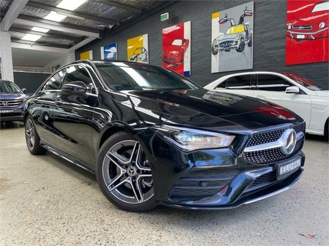 Used Mercedes-Benz CLA-Class C118 Glebe, 2020 Mercedes-Benz CLA-Class C118 CLA200 Cosmos Black Sports Automatic Dual Clutch Coupe