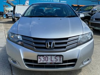 2009 Honda City GM MY09 VTi Silver 5 Speed Automatic Sedan