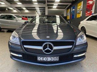 2012 Mercedes-Benz SLK-Class R172 SLK200 BlueEFFICIENCY Tenorite Grey Sports Automatic Roadster.