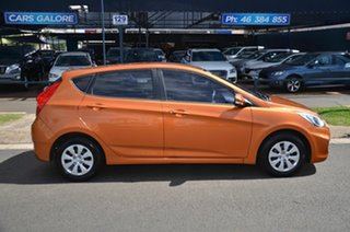 2015 Hyundai Accent RB3 MY16 Active Orange 6 Speed Manual Hatchback.