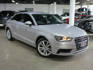 2016 Audi A3 8V MY16 Attraction S Tronic Lotus Grey 7 Speed Sports Automatic Dual Clutch Sedan.