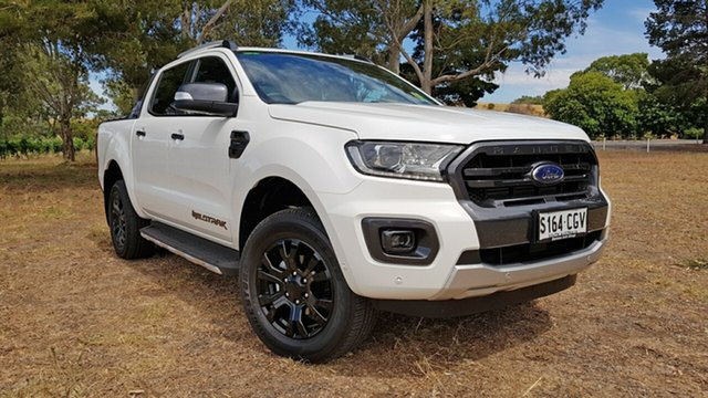 Demo Ford Ranger PX MkIII 2020.75MY Wildtrak Tanunda, 2020 Ford Ranger PX MkIII 2020.7 Wildtrak Arctic White 10 Speed Automatic Double Cab Pick Up