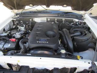 2007 Ford Ranger PJ XL White 5 Speed Manual Trayback