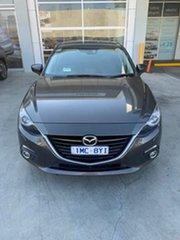2015 Mazda 3 BM5438 SP25 SKYACTIV-Drive GT Grey 6 Speed Sports Automatic Hatchback.