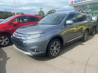 2015 Mitsubishi Outlander ZK MY16 LS 2WD Grey 6 Speed Constant Variable Wagon.