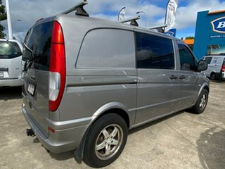 2007 Mercedes-Benz Vito 639 MY07 115CDI Low Roof Comp Silver 5 Speed Automatic Van