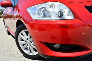 2007 Toyota Corolla ZRE152R Levin ZR Red/Black 6 Speed Manual Hatchback.