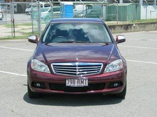 2007 Mercedes-Benz C200 W204 Kompressor Classic Maroon 5 Speed Auto Tipshift Sedan.