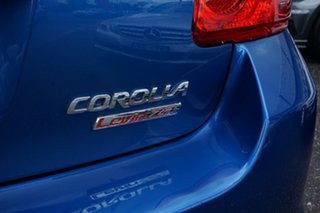 2011 Toyota Corolla ZRE152R MY11 Levin ZR Blue 6 Speed Manual Hatchback