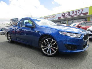 2016 Ford Falcon FG X XR6 Ute Super Cab Blue 6 Speed Sports Automatic Utility
