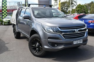 2018 Holden Colorado RG MY18 LS Space Cab Grey 6 Speed Sports Automatic Cab Chassis.