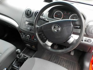 2010 Holden Barina TK MY10 Red 5 Speed Manual Hatchback