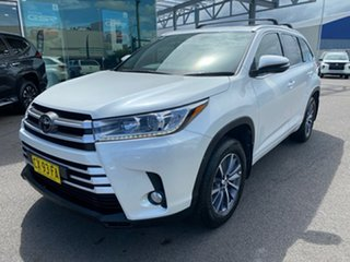 2018 Toyota Kluger GSU50R GXL 2WD White 8 Speed Sports Automatic Wagon.