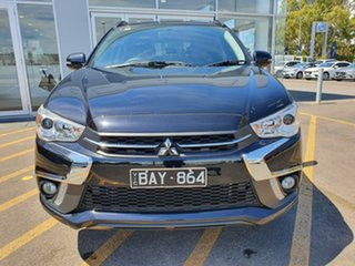 2018 Mitsubishi ASX XC MY19 Exceed 2WD Black 1 Speed Constant Variable Wagon.