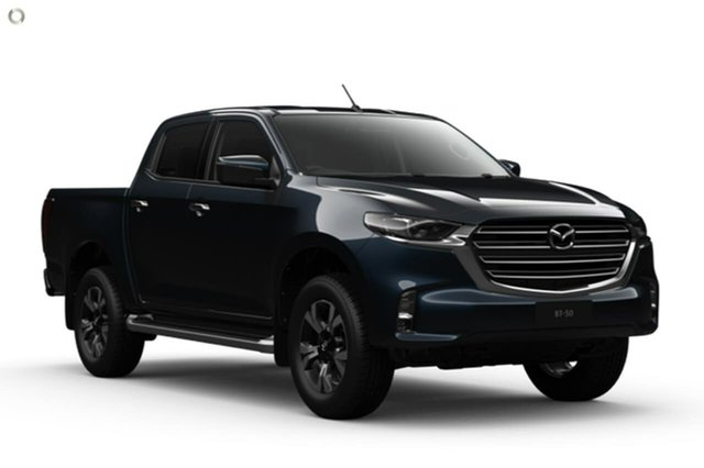 New Mazda BT-50 TFS40J XTR Waitara, 2020 Mazda BT-50 TFS40J XTR Blue 6 Speed Sports Automatic Utility