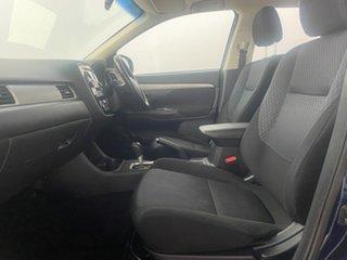 2013 Mitsubishi Outlander ZJ ES (4x4) Blue Continuous Variable Wagon