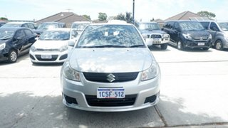 2007 Suzuki SX4 GYA Silver 4 Speed Automatic Hatchback.