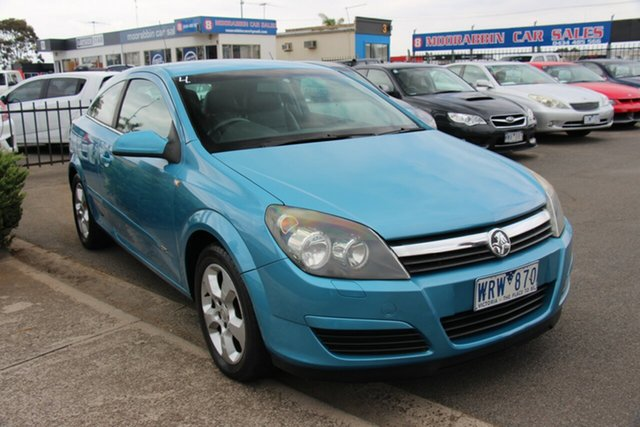 Used Holden Astra AH MY06 CDX Cheltenham, 2005 Holden Astra AH MY06 CDX Blue 5 Speed Manual Coupe
