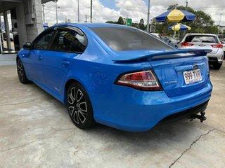 2010 Ford Falcon FG XR6 Blue 6 Speed Sports Automatic Sedan.