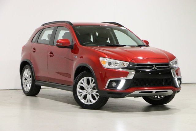 Used Mitsubishi ASX XC MY19 ES ADAS ( 2WD) Bentley, 2018 Mitsubishi ASX XC MY19 ES ADAS ( 2WD) Red Continuous Variable Wagon