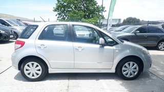 2007 Suzuki SX4 GYA Silver 4 Speed Automatic Hatchback