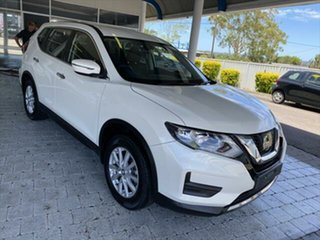 2018 Nissan X-Trail T32 Series 2 ST White Constant Variable Wagon.