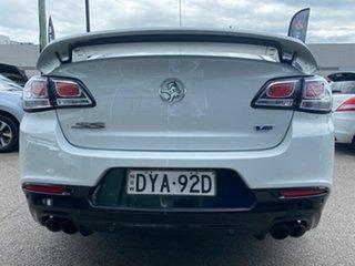 2015 Holden Commodore VF II MY16 SS V White 6 Speed Manual Sedan