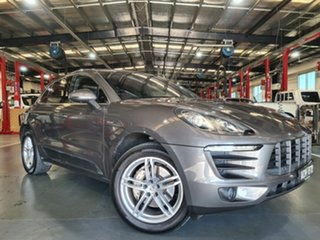 2014 Porsche Macan 95B MY15 S PDK AWD Diesel Grey 7 Speed Sports Automatic Dual Clutch Wagon.