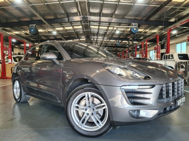 Pre-Owned Porsche Macan 95B MY15 S PDK AWD Diesel Oakleigh, 2014 Porsche Macan 95B MY15 S PDK AWD Diesel Grey 7 Speed Sports Automatic Dual Clutch Wagon