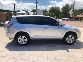 2010 Toyota RAV4 ACA38R MY09 CV 4x2 Silver 5 Speed Manual Wagon