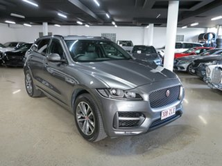 2018 Jaguar F-PACE X761 MY18 R-Sport Grey 8 Speed Sports Automatic Wagon.