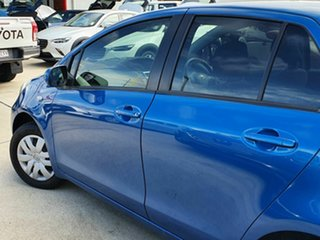 2011 Toyota Yaris YR Blue 4 Speed Automatic Hatchback