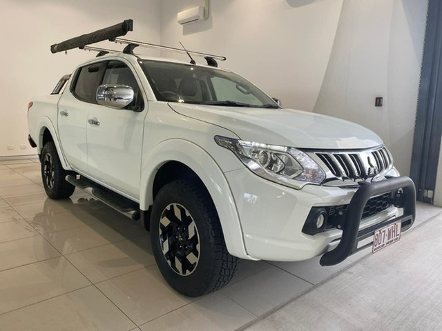 Used Mitsubishi Triton MQ MY16 Exceed Double Cab Aspley, 2015 Mitsubishi Triton MQ MY16 Exceed Double Cab White 5 Speed Sports Automatic Utility