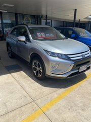2019 Mitsubishi Eclipse Cross YA MY20 ES 2WD Silver 8 Speed Constant Variable Wagon.